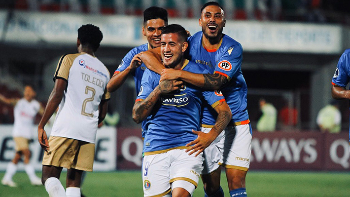Con triplete de Rodrigo Holgado, Audax da vuelta la llave ante el Cusco y avanza en Copa Sudamericana