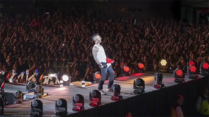 Maroon 5 deja satisfechos a sus fanáticos con espectáculo de unos 90 minutos en La Florida