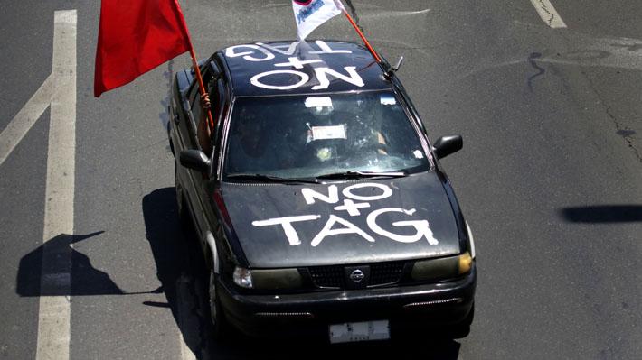 Vocero de NO+TAG queda con firma mensual tras ser detenido por conducir con permiso de circulación presuntamente falso