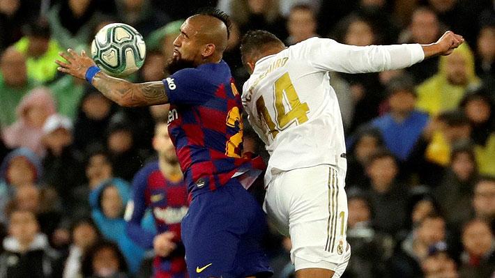 Vidal recibió duros cuestionamientos de la prensa española tras la derrota del Barcelona ante el Madrid