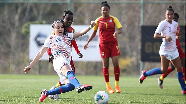 """La """"Roja"""" femenina golea a Ghana en su debut en torneo amistoso previo al repechaje a Tokio 2020"""