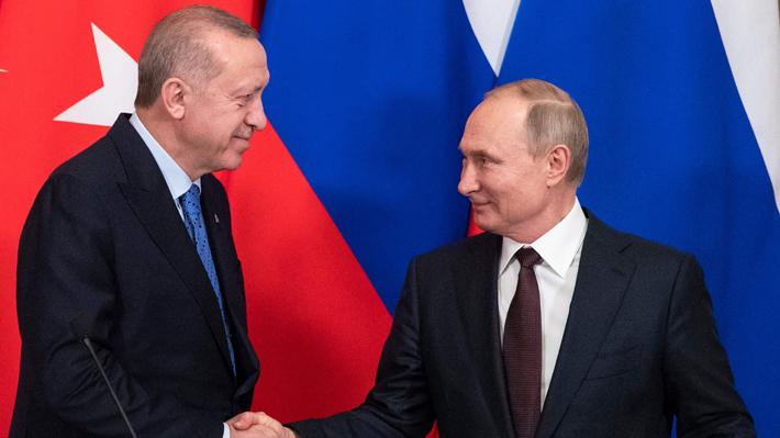 Rusia y Turquía acuerdan un alto al fuego en Siria a partir de esta medianoche