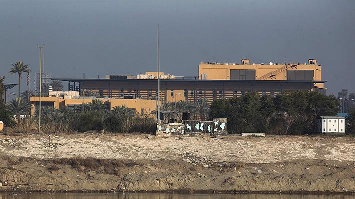 Reportan el impacto de dos cohetes en las inmediaciones de la embajada de EE.UU. en Irak