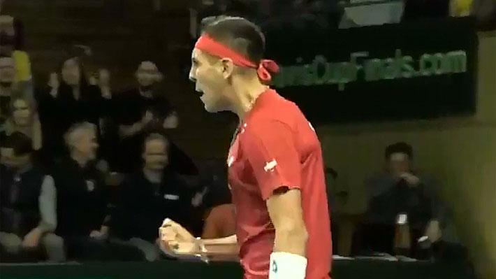 Gigante Tabilo: Derrota con autoridad a Elias Ymer y ahora Chile iguala la dura serie de Copa Davis ante Suecia