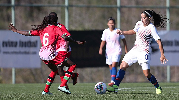 """La """"Roja"""" femenina golea a Kenia y consigue otro triunfo en torneo amistoso previo al repechaje a Tokio 2020"""