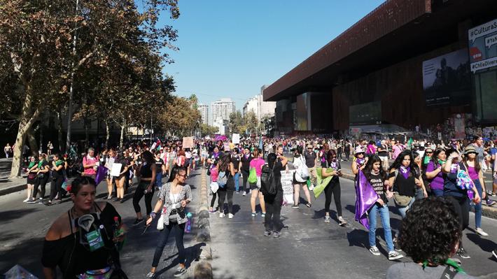 """Organizadoras de la marcha del 8M por el Día de la Mujer: """"Hoy vamos a hacer historia"""""""