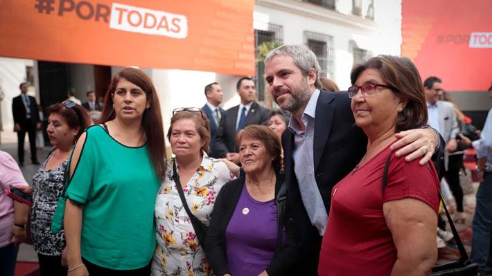 """Gobierno por marcha del 8M: """"Que se escuche la voz de las mujeres, con fuerza, clara y por cierto de forma pacífica"""""""