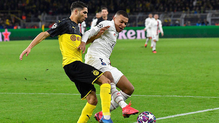 El coronavirus también afecta a la Champions... Revancha entre PSG y Dortmund se jugará a puertas cerradas