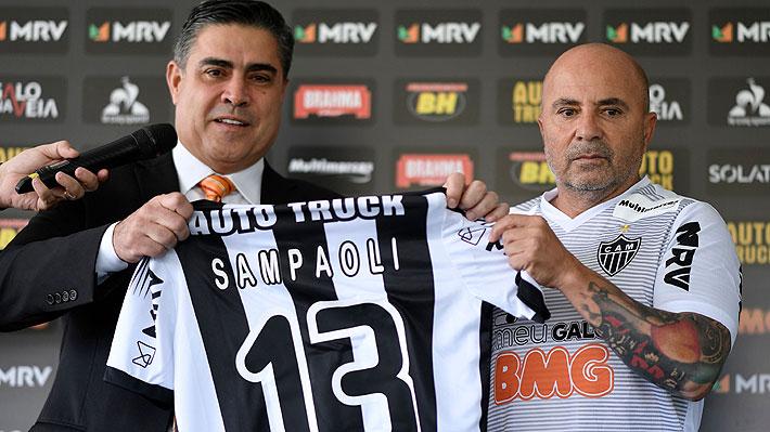 Sampaoli presentado en el Atlético Mineiro: Su promesa y las mejores imágenes