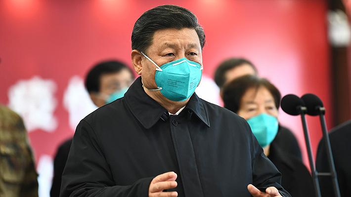"""Presidente chino asegura que el coronavirus está """"prácticamente contenido"""" en su epicentro"""