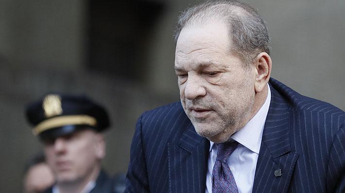 Abogados de Harvey Weinstein piden a juez considerar sus problemas de salud ad portas de  que se dicte su sentencia