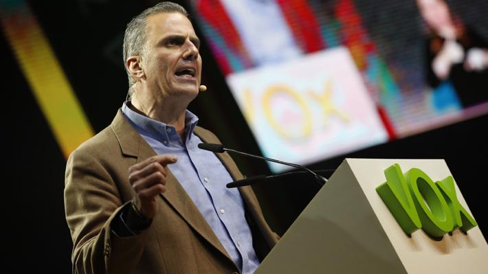Secretario general de Vox da positivo por coronavirus tras celebrar un acto con 9.000 personas en Madrid