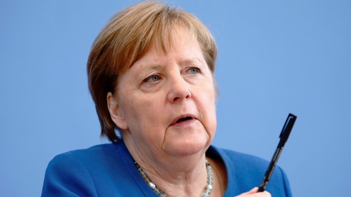 """Angela Merkel aseguró que """"entre el 60 y el 70% de las personas en Alemania se infectarán con el coronavirus"""""""