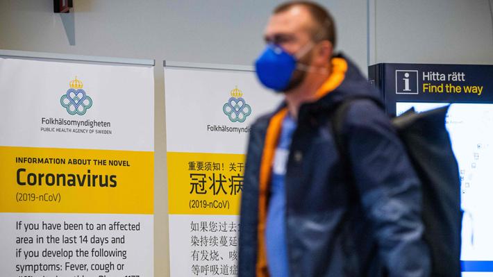 Suecia, Irlanda, Albania y Bulgaria confirman sus primeros fallecidos a causa del coronavirus