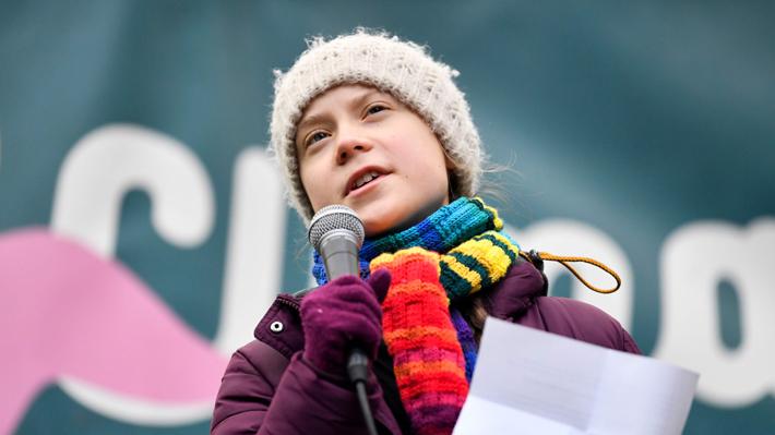 Greta Thunberg pide a activistas climáticos realizar protestas virtuales debido al coronavirus