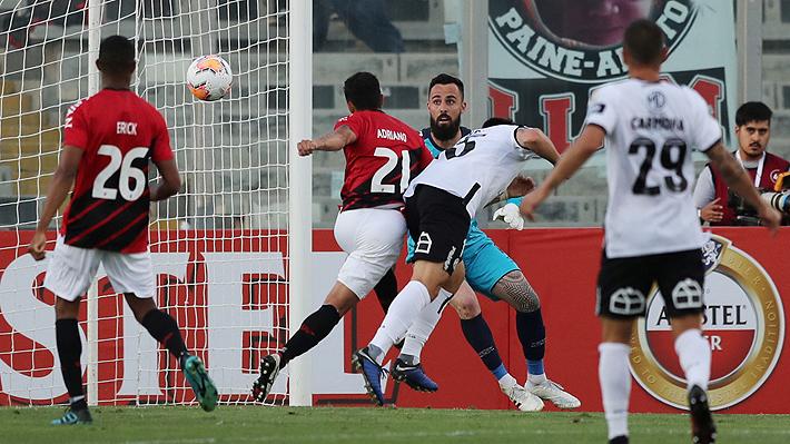 Mira el gol de Pablo Mouche, con el que Colo Colo gana en la Libertadores
