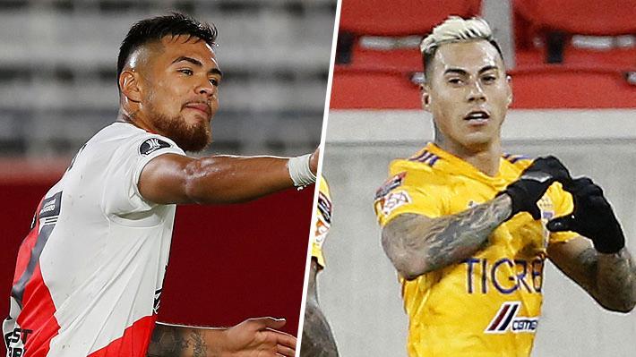 Video: El golazo de Paulo Díaz en River en la Libertadores y el agónico tanto de Eduardo Vargas en triunfo de Tigres
