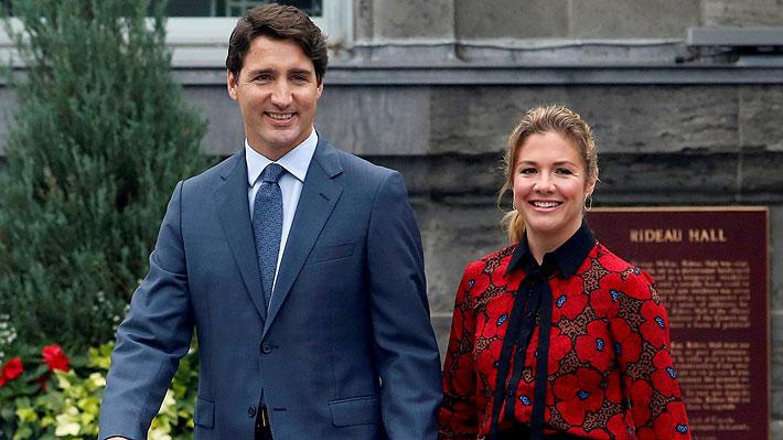 Sophie Trudeau, esposa del primer ministro de Canadá, da positivo en coronavirus
