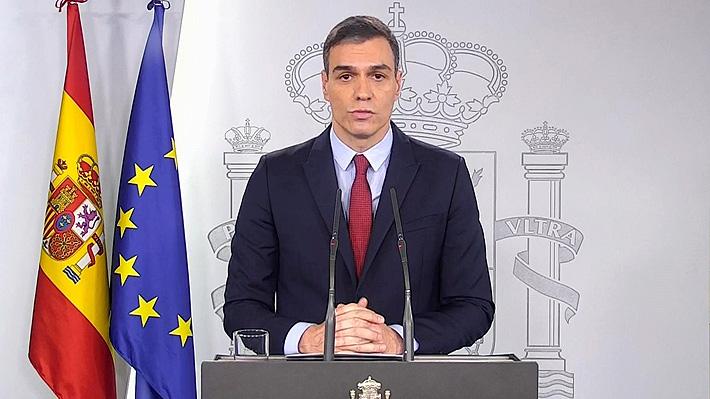 """Gobierno de España declara """"estado de alarma"""" ante la expansión del coronavirus"""
