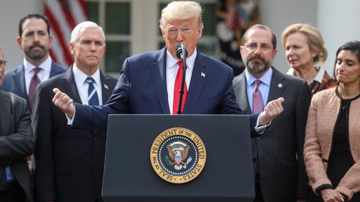 Trump declara estado de emergencia nacional en EE.UU. por expansión del coronavirus