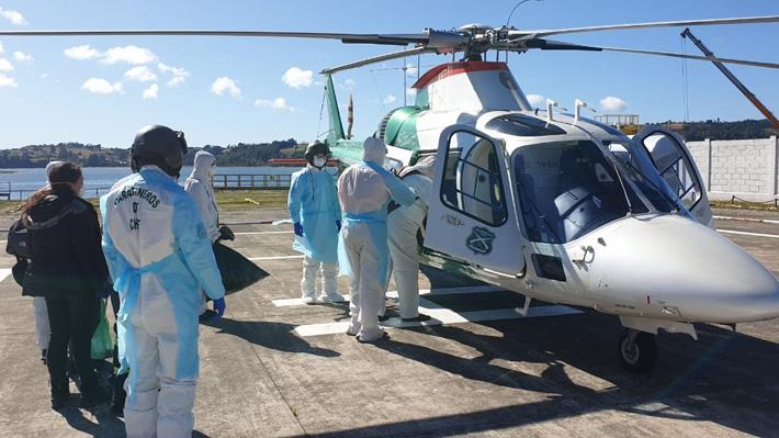 Cinco ocupantes de crucero en cuarentena fueron trasladados a Hospital de Puerto Montt con síntomas asociados al coronavirus