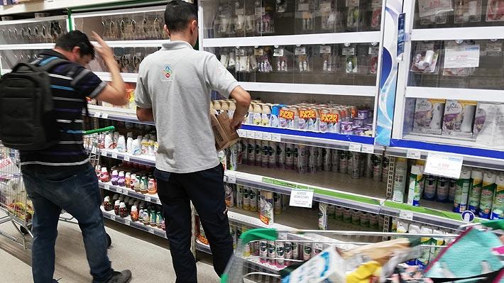 Walmart Chile limita compra de productos de limpieza ante la alta demanda