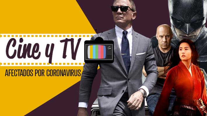Hollywood en cuarentena: Los estrenos y rodajes que han debido suspenderse por el coronavirus
