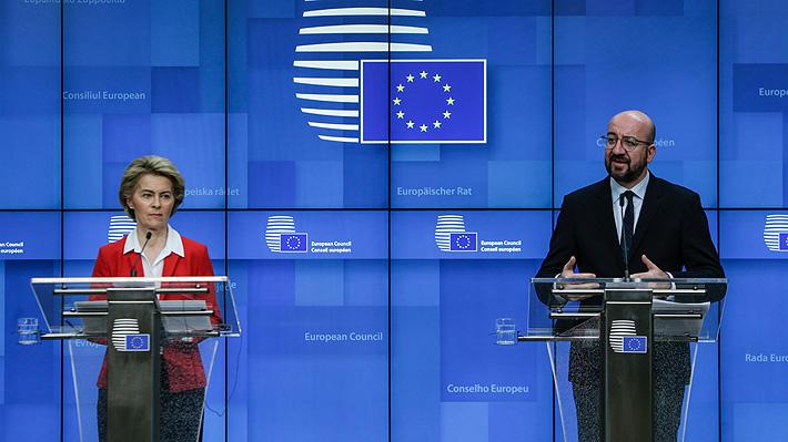 Líderes de la Unión Europea acuerdan el cierre de las fronteras exteriores por 30 días