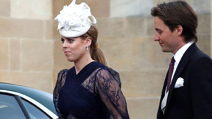 Princesa Beatriz cancela la recepción de su matrimonio y evalúa ceremonia privada para evitar riesgos por Covid-19