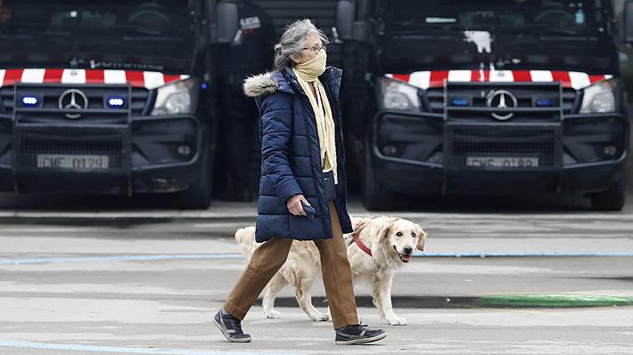 Españoles recurren a perros falsos para burlar la cuarentena: Policías piden sensatez