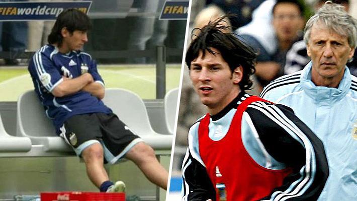 Mundialista argentino en Alemania 2006 reveló por qué Messi se quedó en la banca en el duelo que marcó la eliminación albiceleste