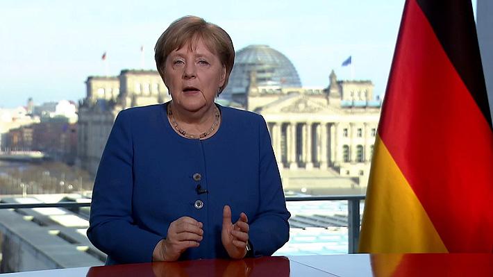 """Merkel y Covid-19: """"Desde la II Guerra Mundial no ha habido un desafío en nuestro país que dependa tanto de nuestra actuación"""""""