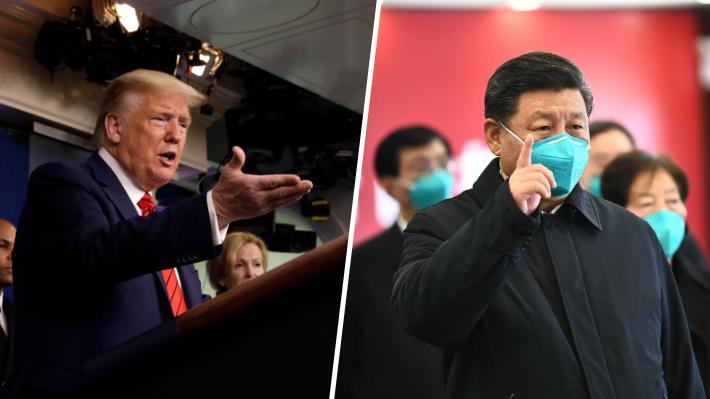Cómo crece otra vez la tensión entre EE.UU. y China en medio de la crisis por el Covid-19
