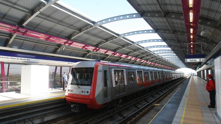 Efectos del Covid-19 en la red de Metro: Afluencia de pasajeros cayjó hasta llegar a una disminución del 65%
