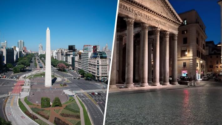 Desde Italia hacia Argentina: ¿Cómo y hasta cuándo se decretaron algunas cuarentenas nacionales?