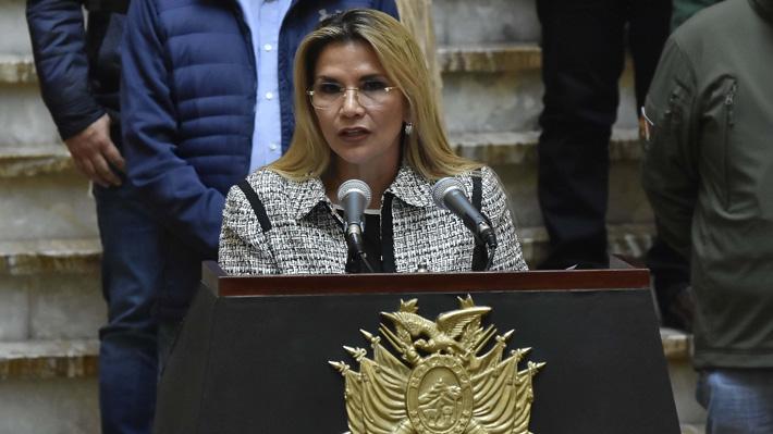 """Presidenta de Bolivia afirma que """"la lucha por el mar continúa"""" y revelará nueva estrategia después de crisis por Covid-19"""