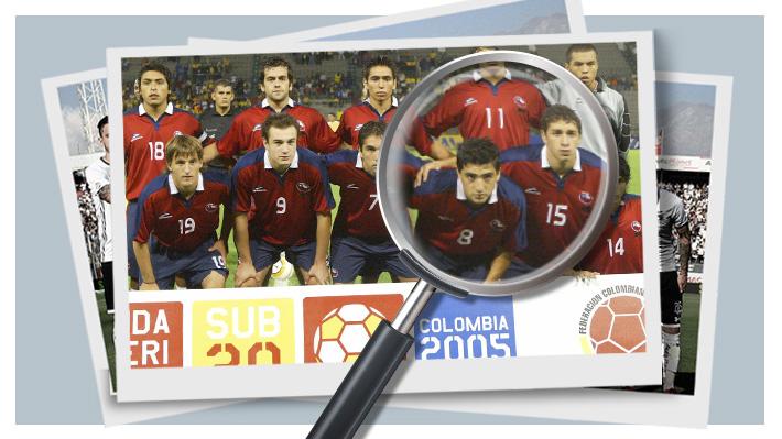 ¿Puedes identificar a los once jugadores de este equipo? Es una Sub 20 que clasificó a un Mundial de la categoría