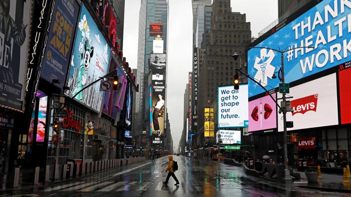 Nueva York: El nuevo epicentro de la pandemia de coronavirus que alberga más del 60% de los casos de todo EE.UU.
