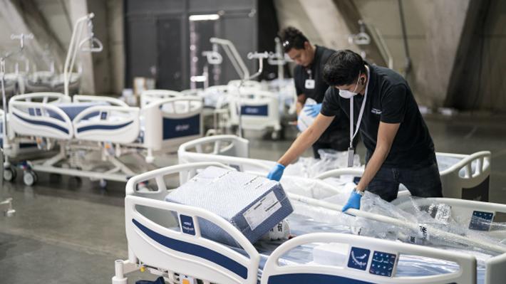 Así luce el Espacio Riesco como residencia sanitaria para contagiados leves con coronavirus
