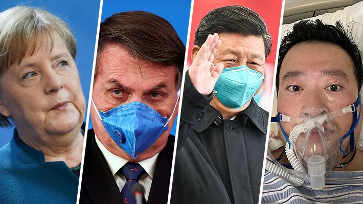De Merkel al doctor de Wuhan: Los protagonistas de la emergencia sanitaria más grave del siglo