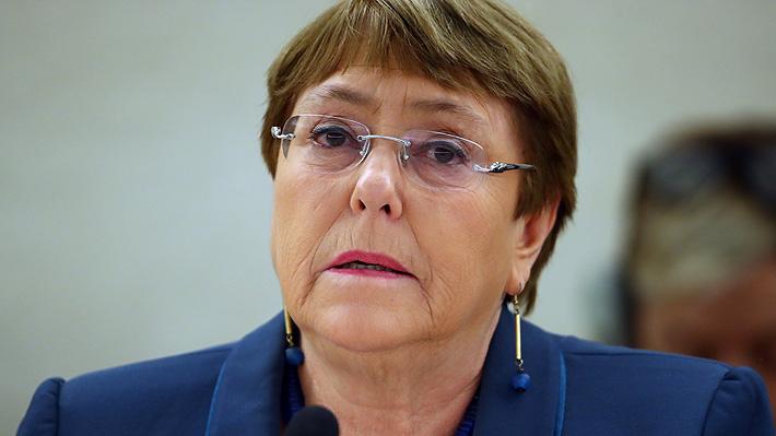 Bachelet pide a los gobiernos que liberen a los presos de baja peligrosidad ante crisis por Covid-19