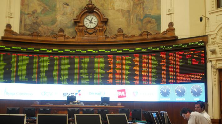 Bolsa chilena anota su mayor alza desde noviembre en línea con positiva jornada de mercados globales