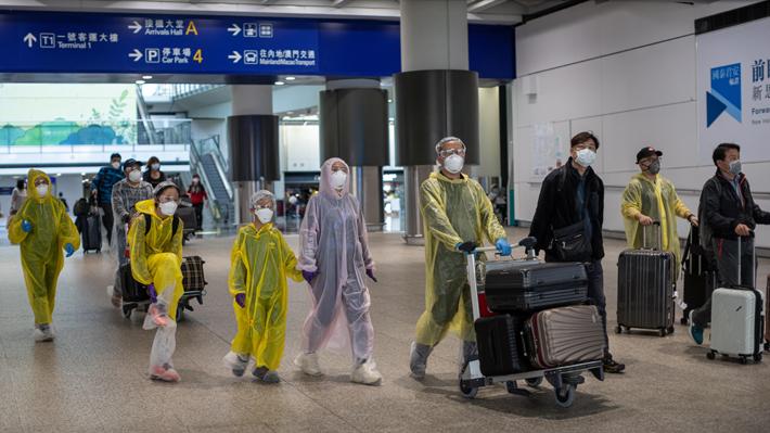 China cerrará sus fronteras a los extranjeros para frenar los casos importados de covid-19