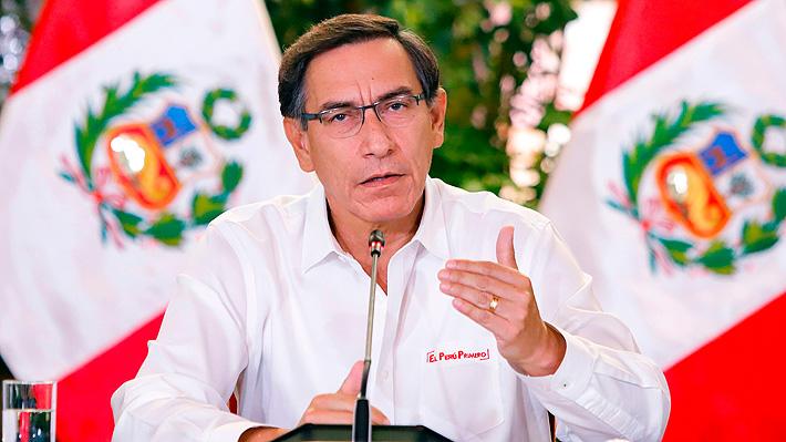 Gobierno de Perú extiende estado de emergencia y cierre de fronteras ante crisis por coronavirus