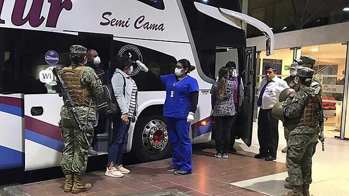 Activan protocolo de emergencia tras detectar que pasajero no respetó cuarentena y viajó en bus a Quillota