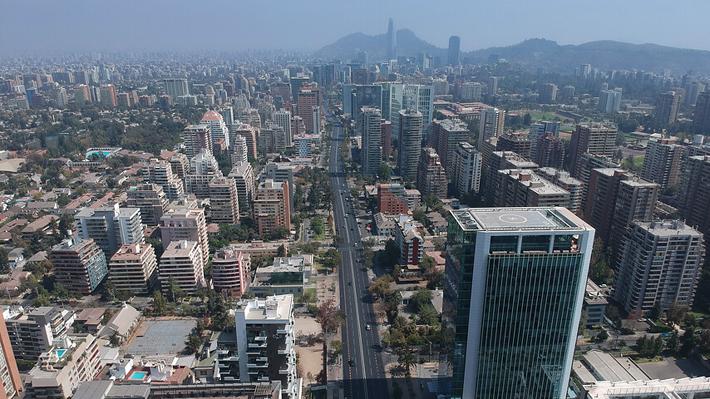 Mejor calidad de aire en Santiago y menos contaminación: El otro efecto de la cuarentena por covid-19