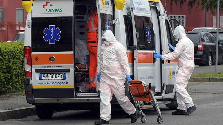 Italia registra 969 muertos por covid-19 en solo un día: Cifra total de fallecidos supera los 9 mil