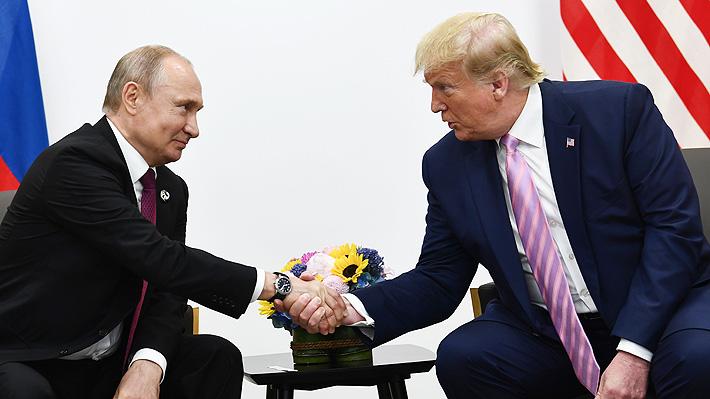 Trump y Putin conversan sobre la emergencia del coronavirus en busca de una mayor cooperación entre ambos
