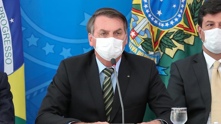 Crece la tensión en Brasil por actuar de Bolsonaro ante crisis por covid-19: Piden su renuncia y surgen nuevas protestas