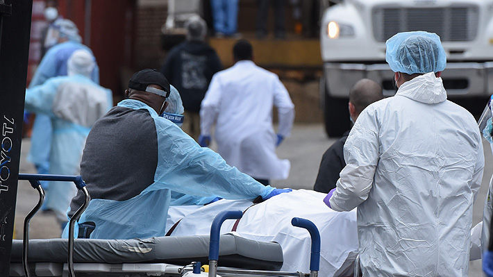 EE.UU. registra 3.415 muertos por coronavirus y supera el total de decesos reportados por China
